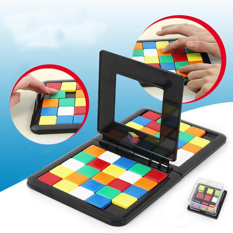 Colored Battle Race Game Cube Parent Children Interaction Cube Desktop  Educational Puzzle Toys: Buy Online at Best Prices in Pakistan   Daraz.pk