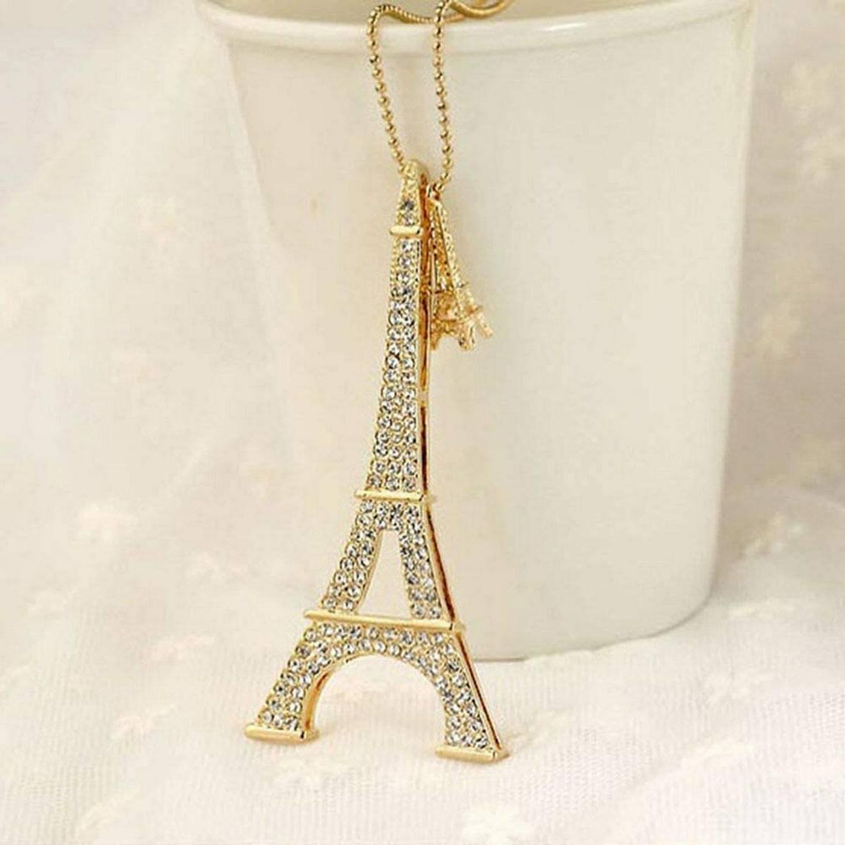 New Fishion Jewelry Paris Eiffel Tower Pendant Fashion Jewelry Necklace for Girls