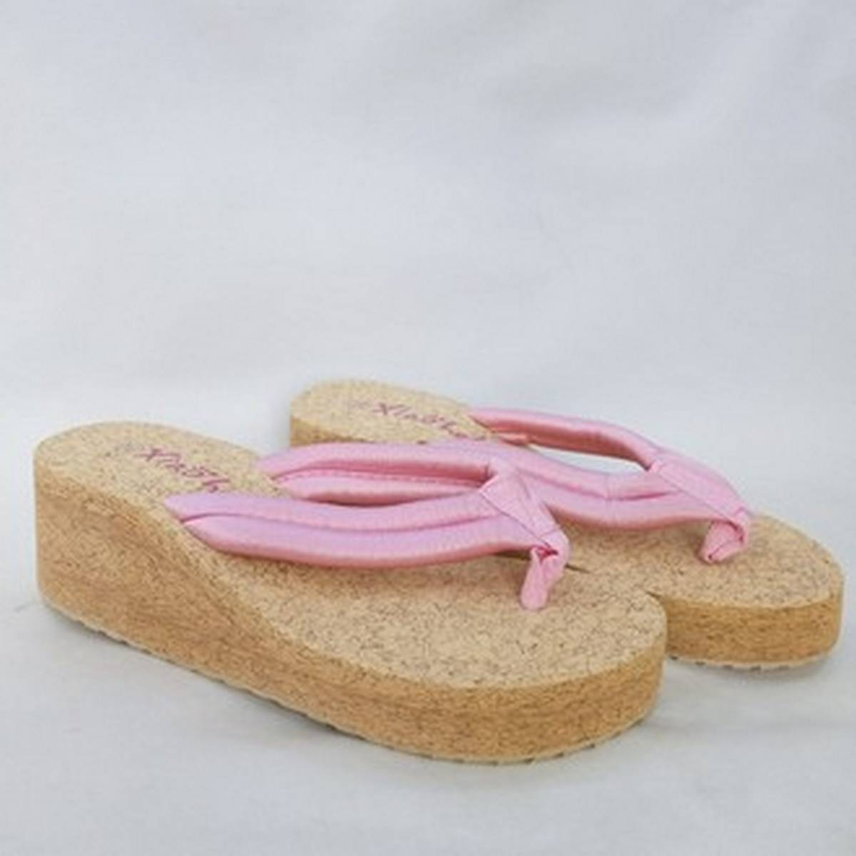 Wedge High Heel Slippers For Women Fashion ZS # 02