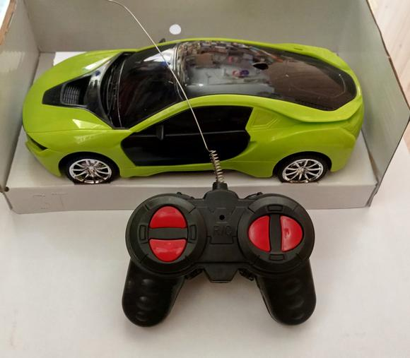 3D Famous Car 4 Channel RC Remote Control Cars with 3D (Rechargable & non rechargeable) both available