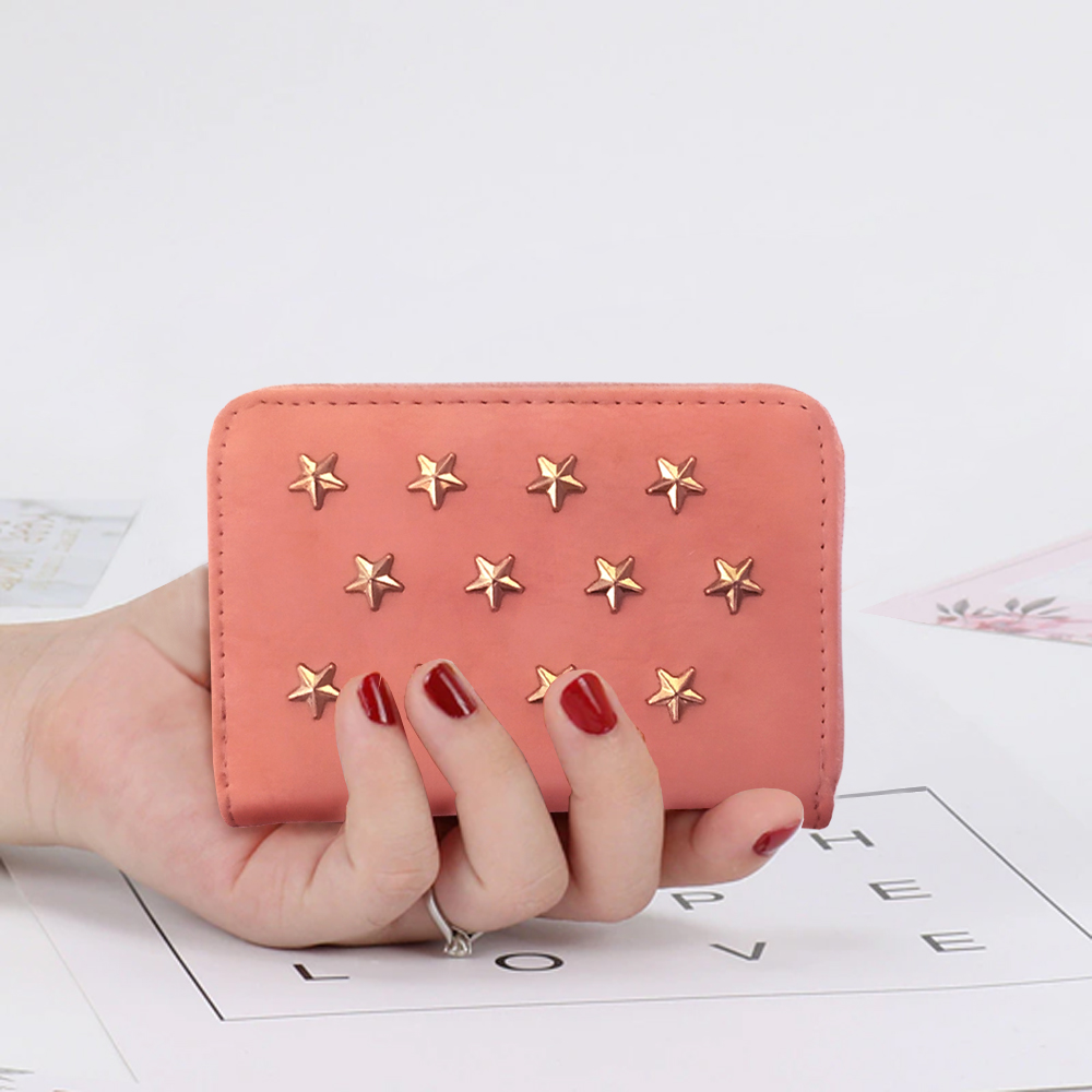 Mini Wallet for Girls Short Purse for Women Mini Coin Pouch Card Holder