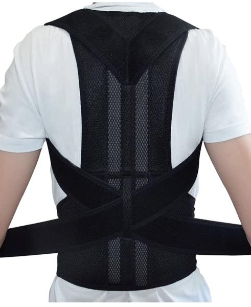 Adjustable Magnetic Posture Corrector Back Brace Support Belts for Upper Back Pain Relief