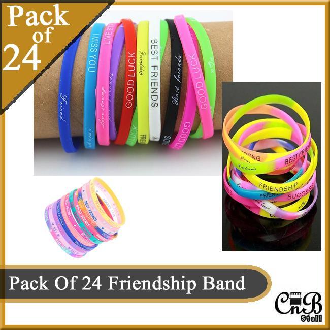 Pack Of 24 Friendship Band  Bracelet  Hand Band
