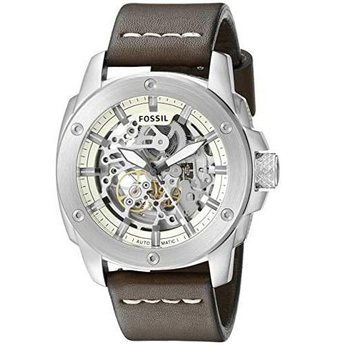 170773dba Fossil Modern Machine Skeleton Dial Automatic Mens Watch ME-3083