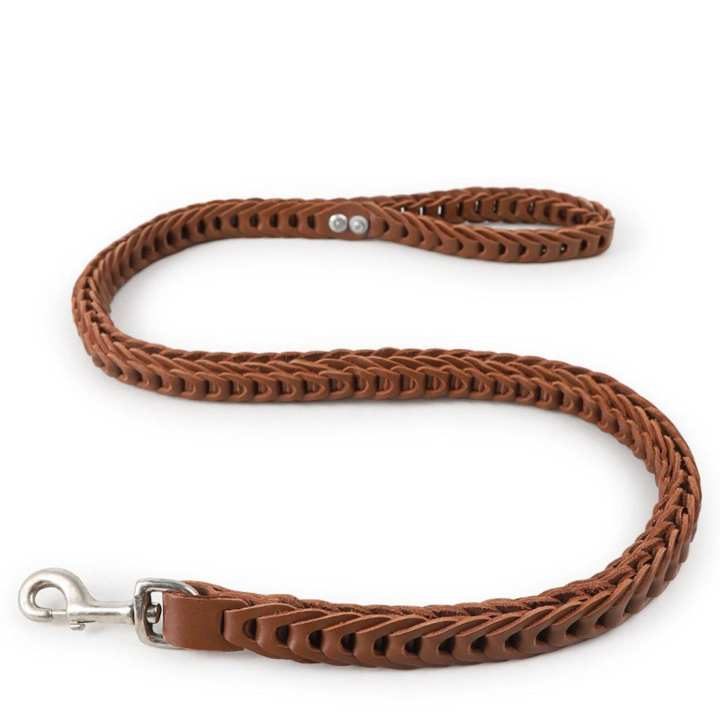 pet supplies dog rope chain Wanda leather debris buckled traction belt