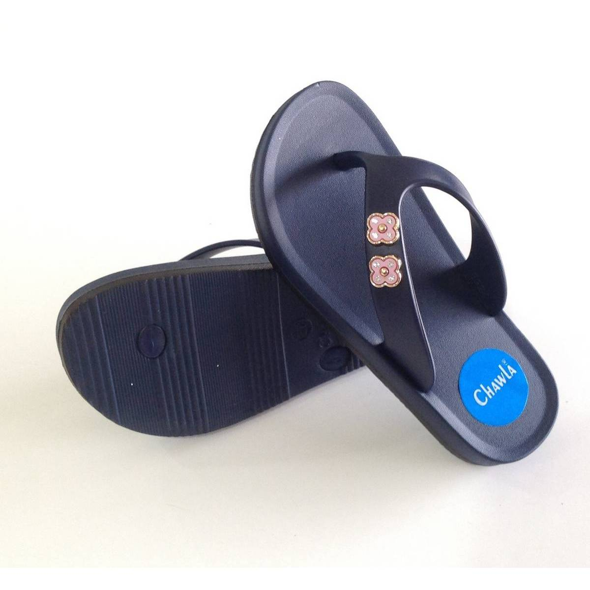 Casual Chappal For Women Latest Design Rubber House Slippers