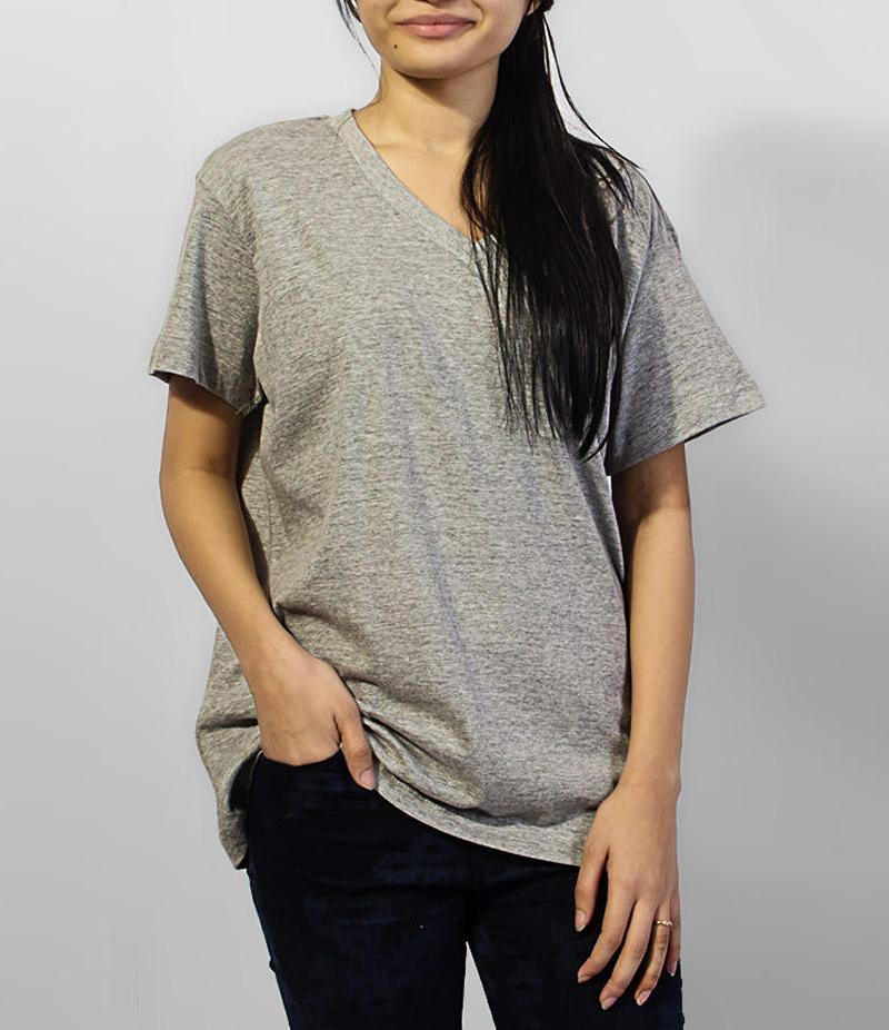 Grey V-neck Basic Cotton T-shirt For Women. Sd-145. Grey V-neck Basic Cotton T-shirt For Women. Sd-145, Tshirts , Tshirts , Plain T-shirts , Half Sleeves T Shirts ,stylish Tshirts ,t-shirts For Women .