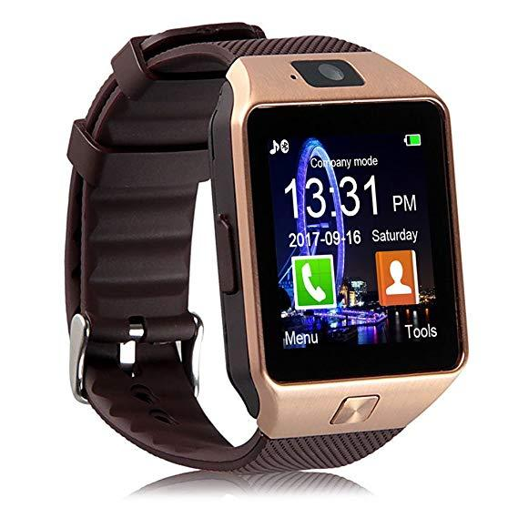 5d32023737a SMART WATCH WITH CAMERA AND With Bluetooth For ios And Android(FREE RS150  WORTH MOBILE