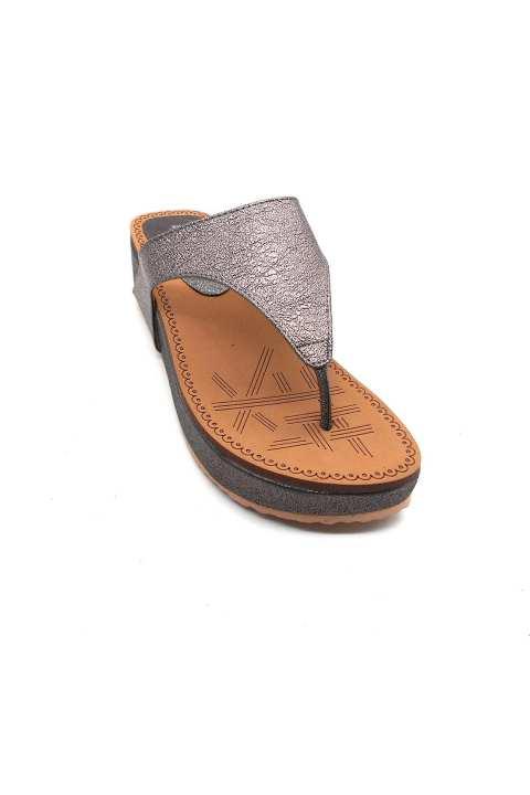 Grey Slipper For Women 2310/015