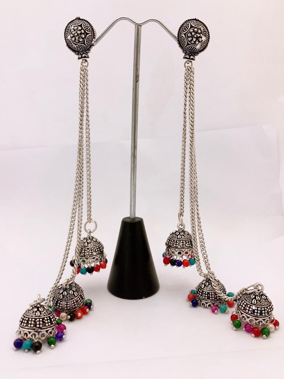 Fine Quality Antique Earrings Jhumki Set