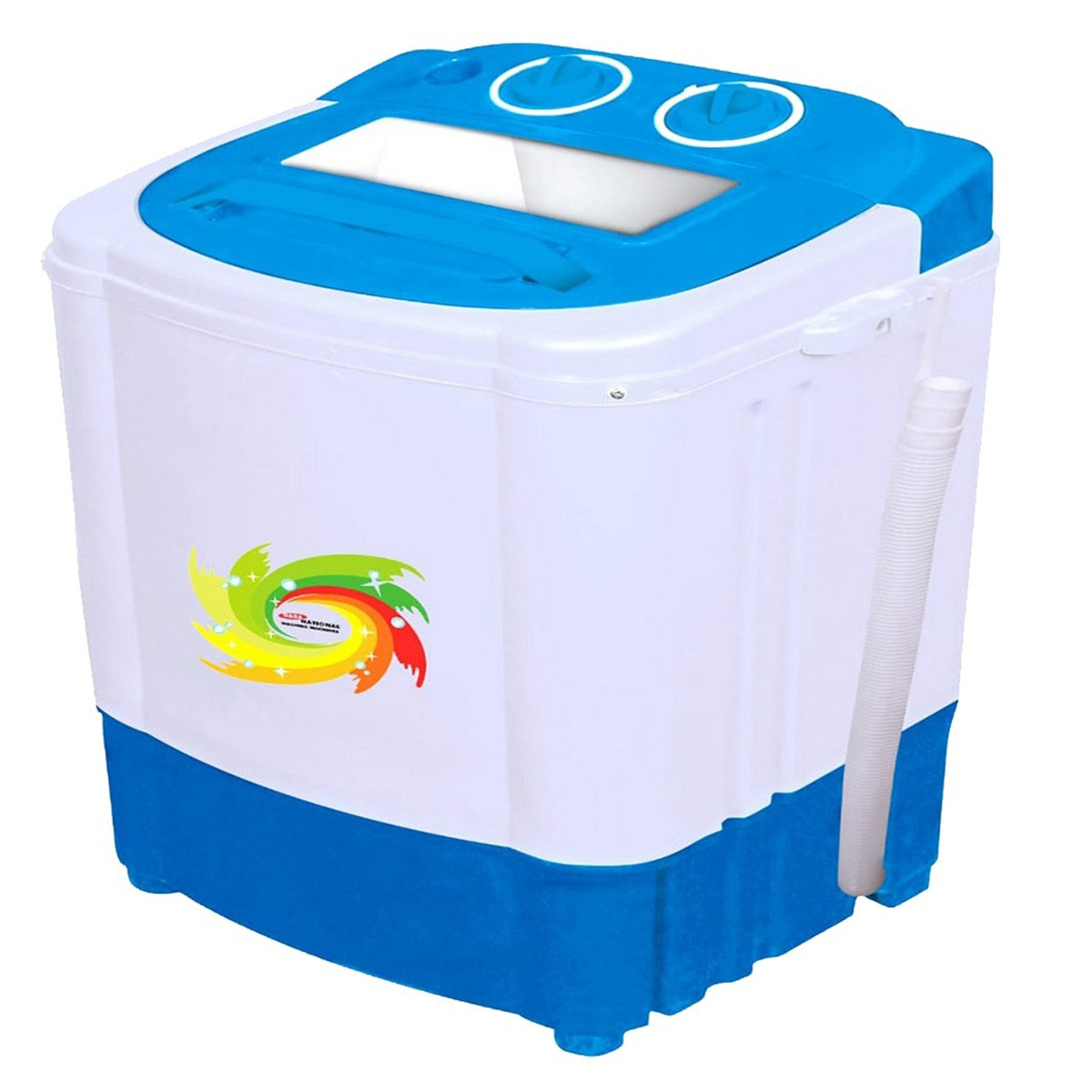 Gaba National Baby Washer With Spinner - Gnw-92020 - Blue- 2.5kg