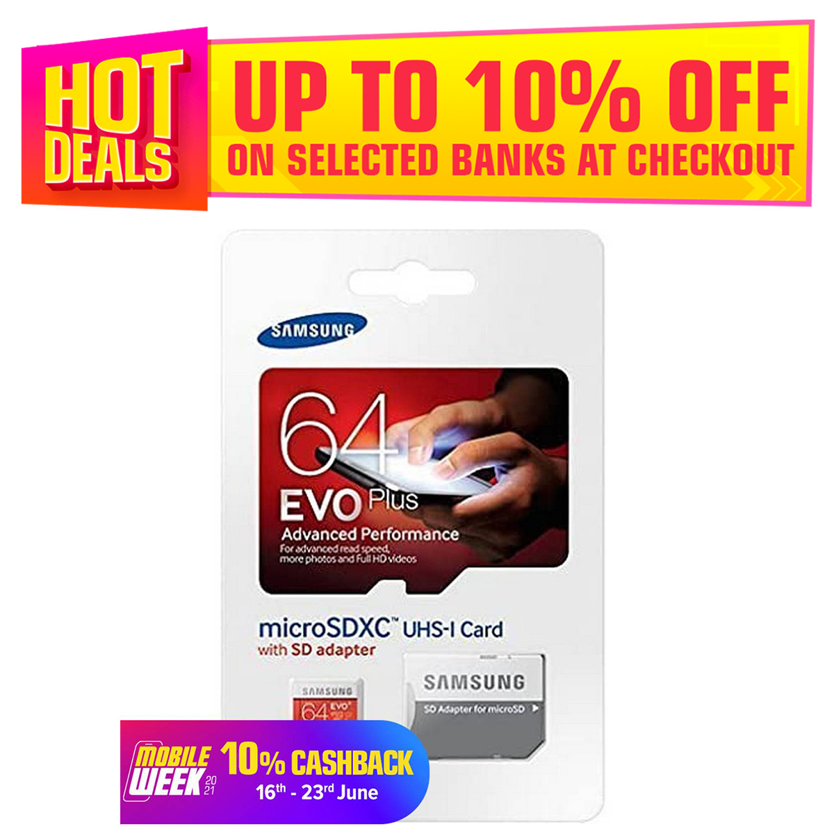 EVO Memory Card 8GB, 16GB, 32GB, 64GB For all type of Accessories Camera, hand sets & all Micro SD compatible Devices(6 Months Warranty)