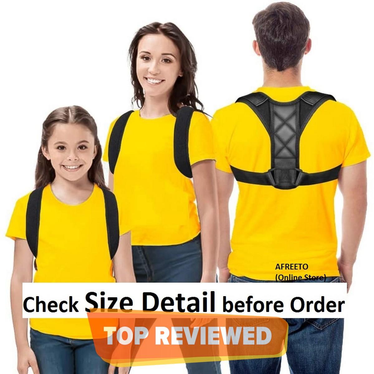 Posture Corrector, Posture support Brace Adjustable Shoulder Belt