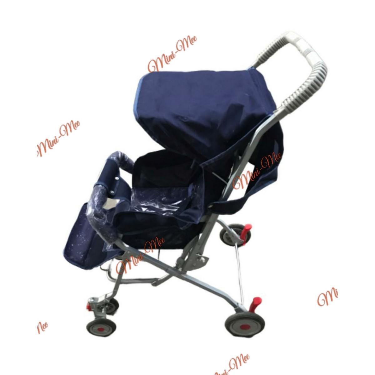 Foldable Baby Stroller Pram For Newborn Rubber Tyres