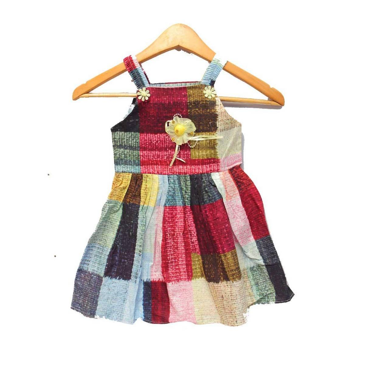 Printed Baby Cotton Frocks Different Designs