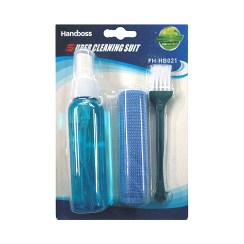 3 In 1 Handboss FH-HB021 Super Cleaning Kit For Lcd, Tv, Camera, Lens And Screens