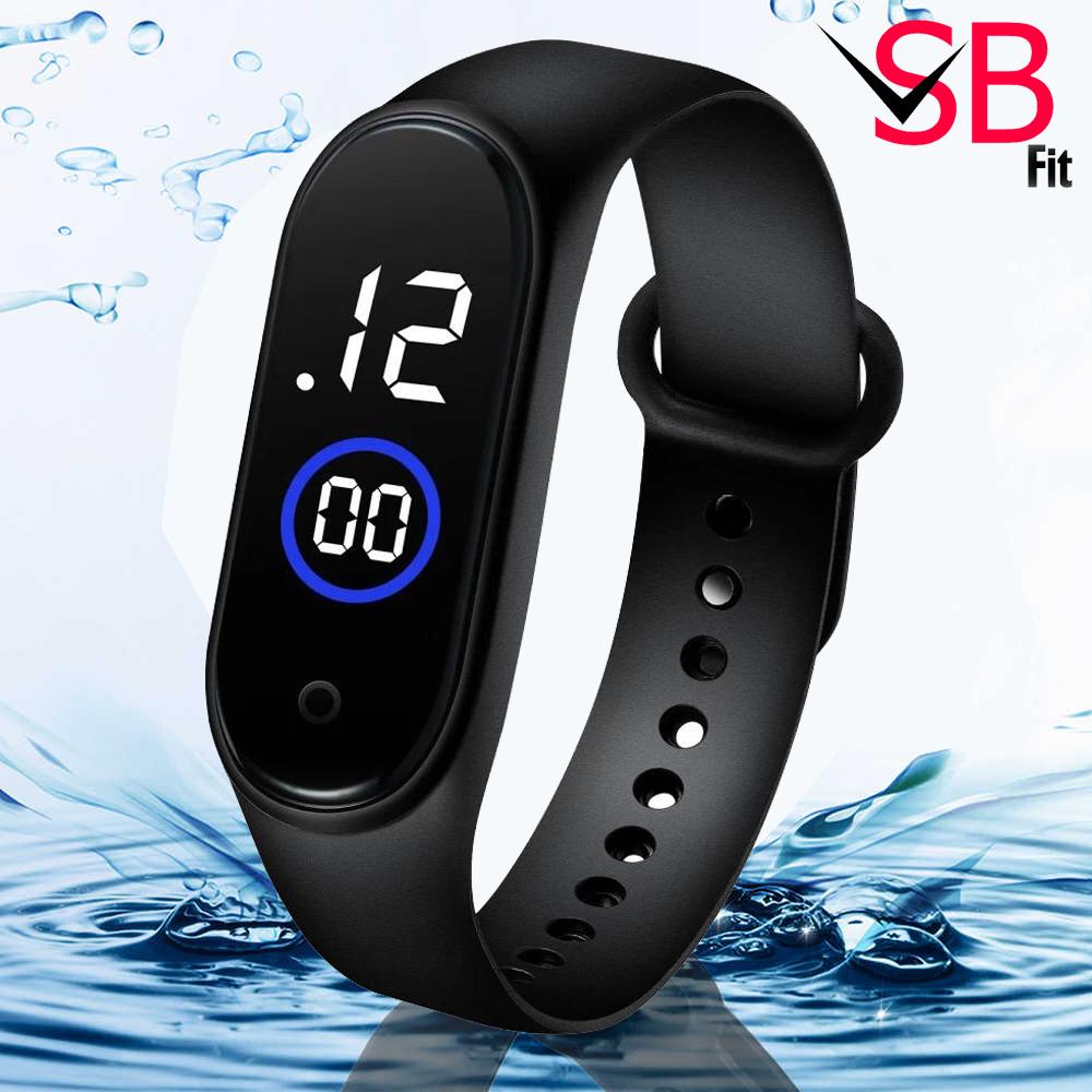 Waterproof M4 Digital Sports Watch For Men's - Stylish Watch For Men / Boys