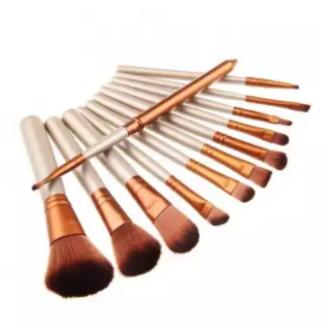 Professional 12 PCS Makeup Brush Cosmetic Facial Makeup Brush Tools Makeup Brushes Set Kit With Iron box