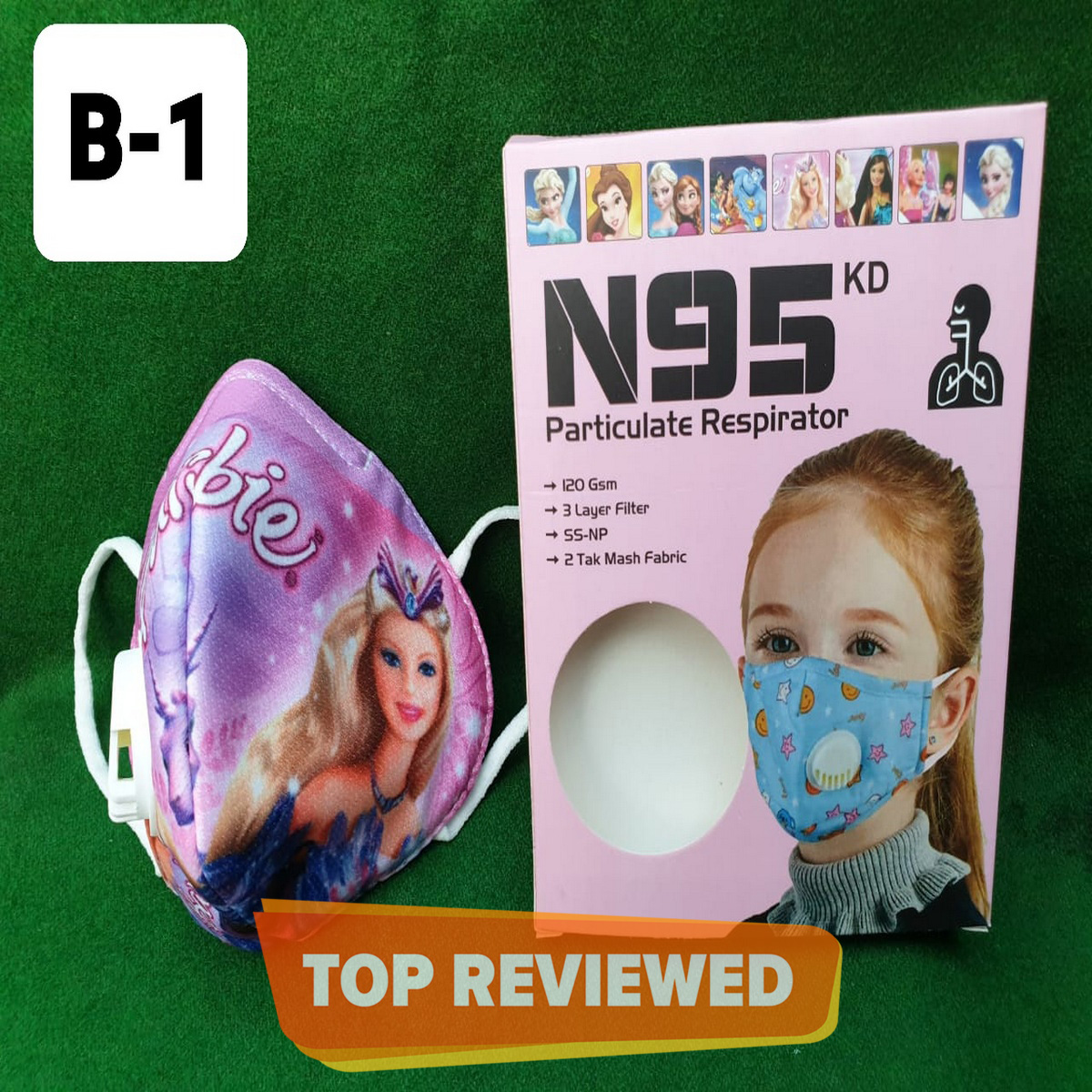 Anti Dust Cloth Mask For Kids