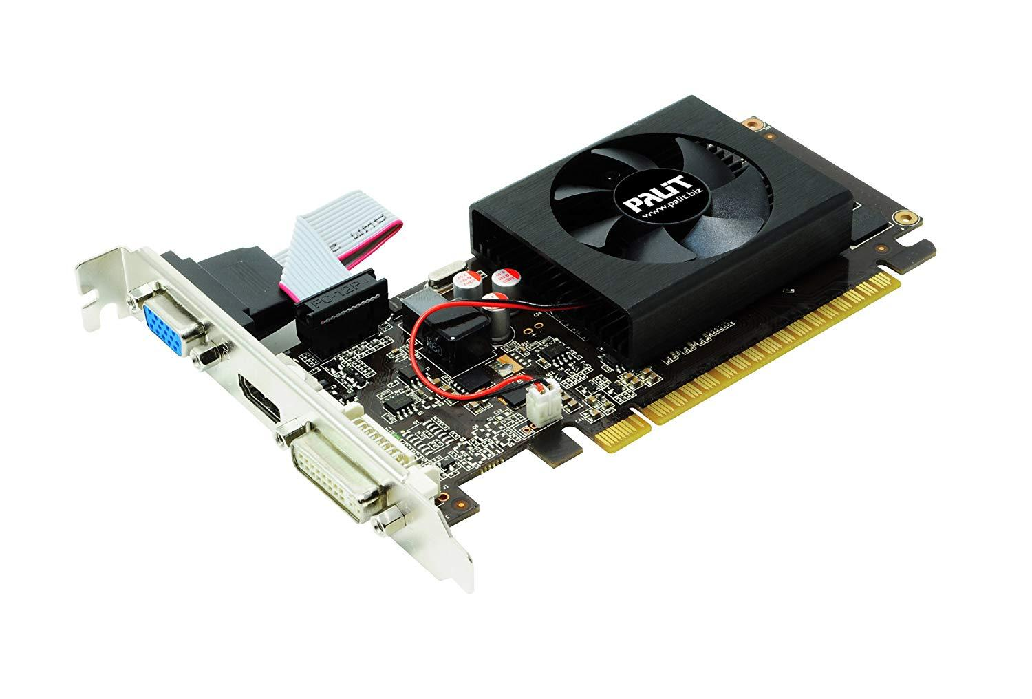 Palit GeForce GT 610 - graphics & Gameing Card - GF GT 610 - 1 GB PCI Express 2.0 x16