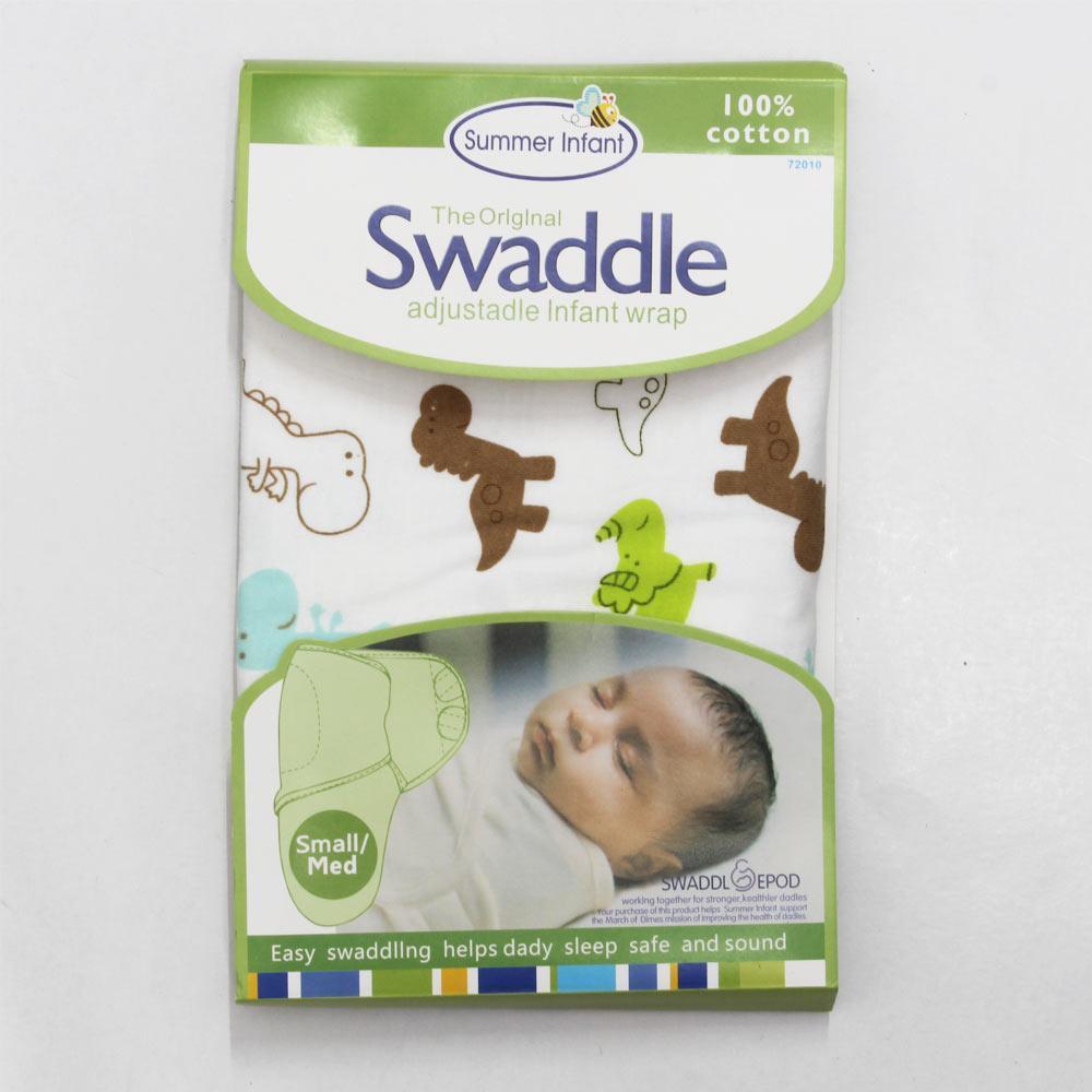 SUMMER INFANT Adjustable Infant Wrap Cotton Swaddle