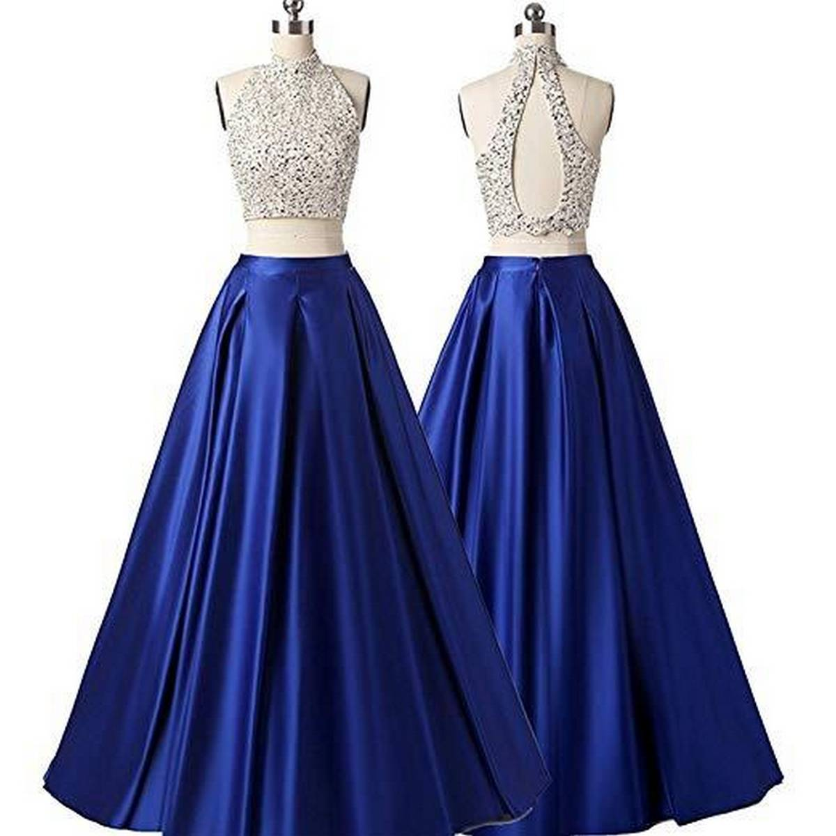 PINK LADY Branded Satin Blue Long Maxi Stylish Skirt For Women With Can can, Skirt For For Girls, Wedding Skirt For Women, Maxi Skirt For Girls