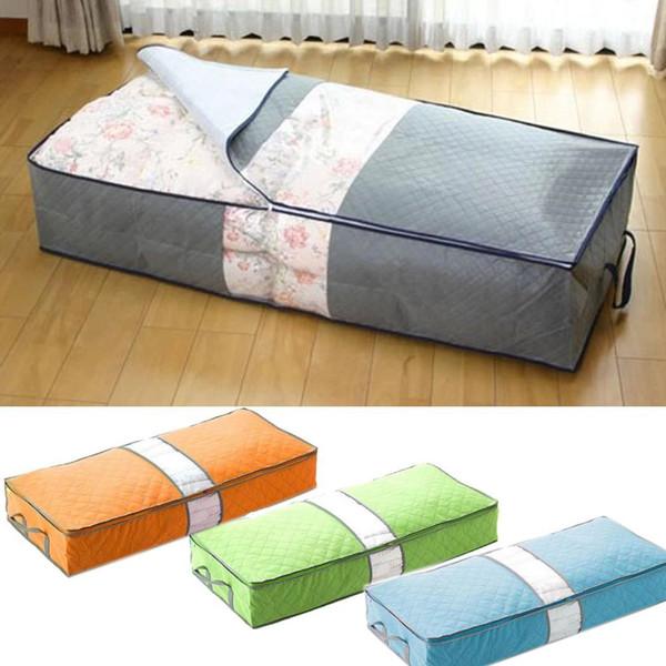 Underbed Storage Bag Home Storage Organizer Under The Bed Organizer Fits for Kids Men & Women Clothes /Shoes