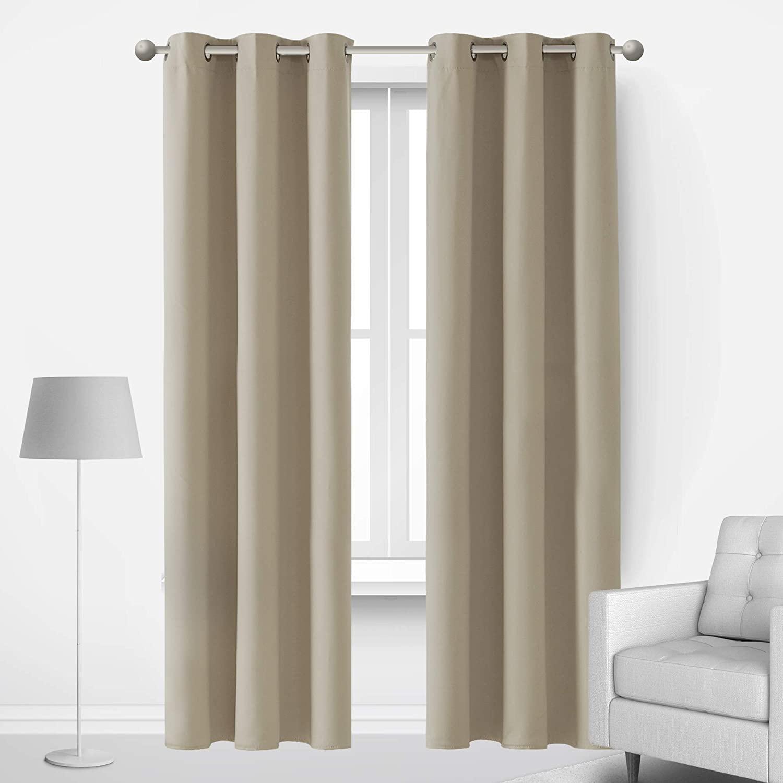 Window Curtains EXPORT QUALITY PREMIUM JACQUARD CURTAINS ( 2 CURTAIN SET )
