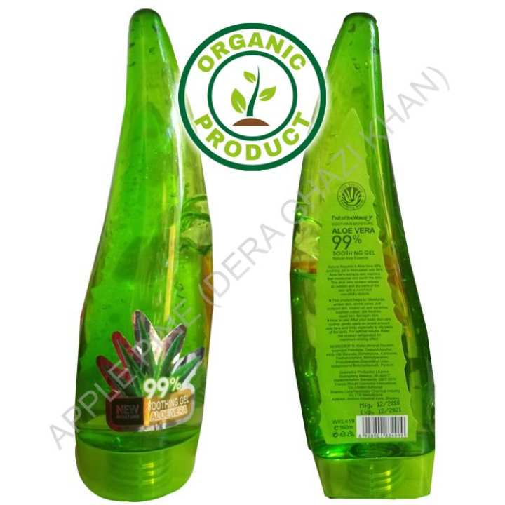Forever Wow Aloe Vera Soothing Gel Pure Aloe Vera Gel - Soothes and Hydrates Dry, Itchy, or Irritated Skin; great for Acne, Dandruff, Sunburn, Rashes