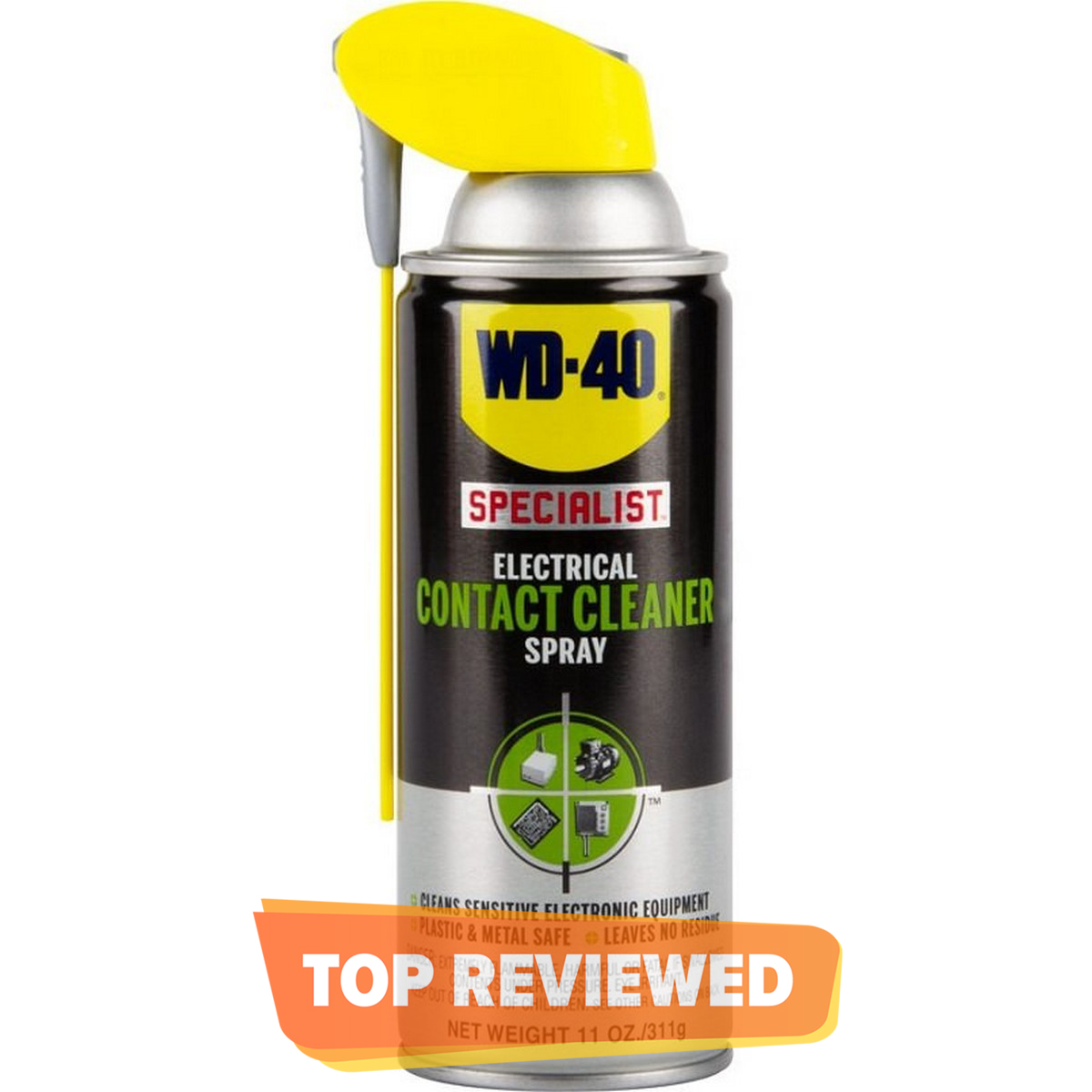 WD-40 Specialist Contact Cleaner with Smart Straw - 400ml Multi purpose Made in UK