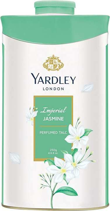 Yardley London Perfumed Talcum Powder 250G (Imperial JASMINE)