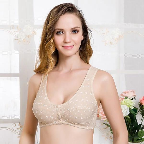2a1cb7d05c75e Pregnant Women Underwear Cotton Maternity Push Up Breast Feeding Bra