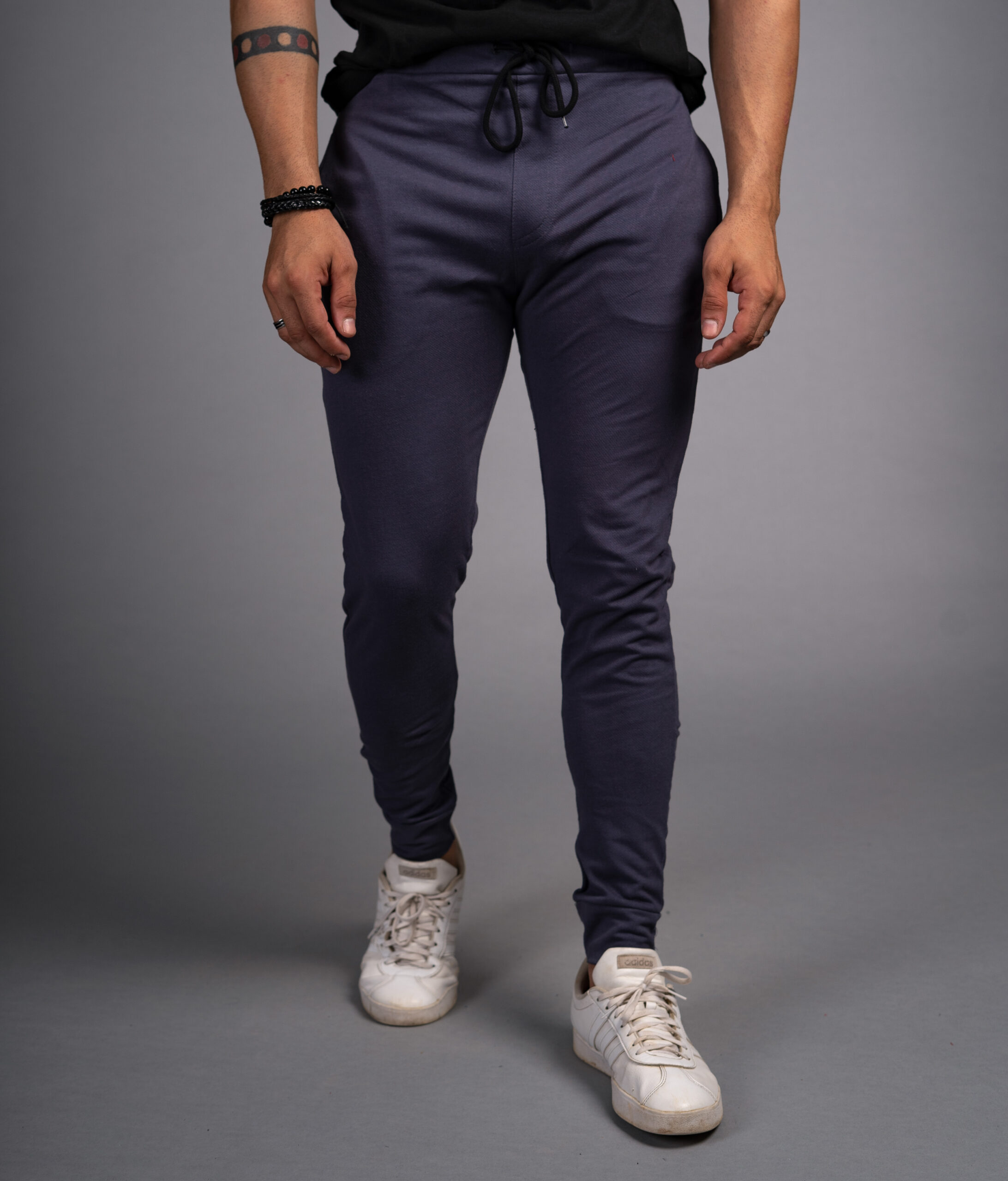 Blue Trouser For Men Narrow Fitting Perfect For Gym