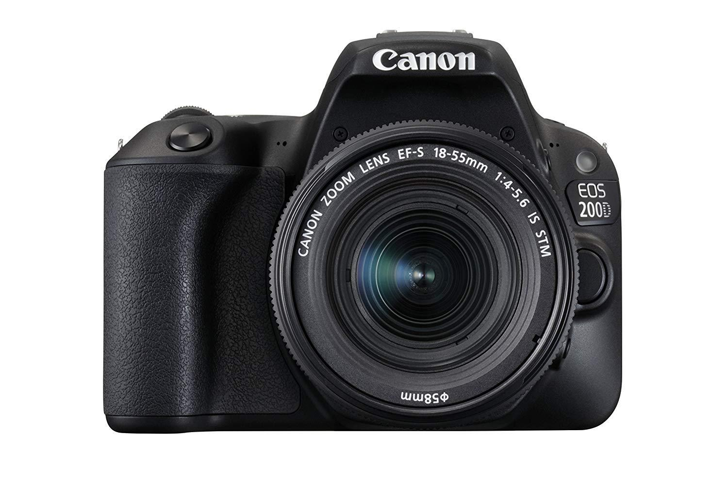 Canon 200d DSLR With Kit 18-55