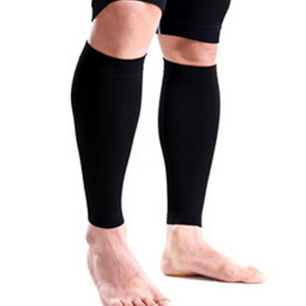 Pair of Temporary Sleeves for Legs Cover Comfortable and Stretchable Fabric