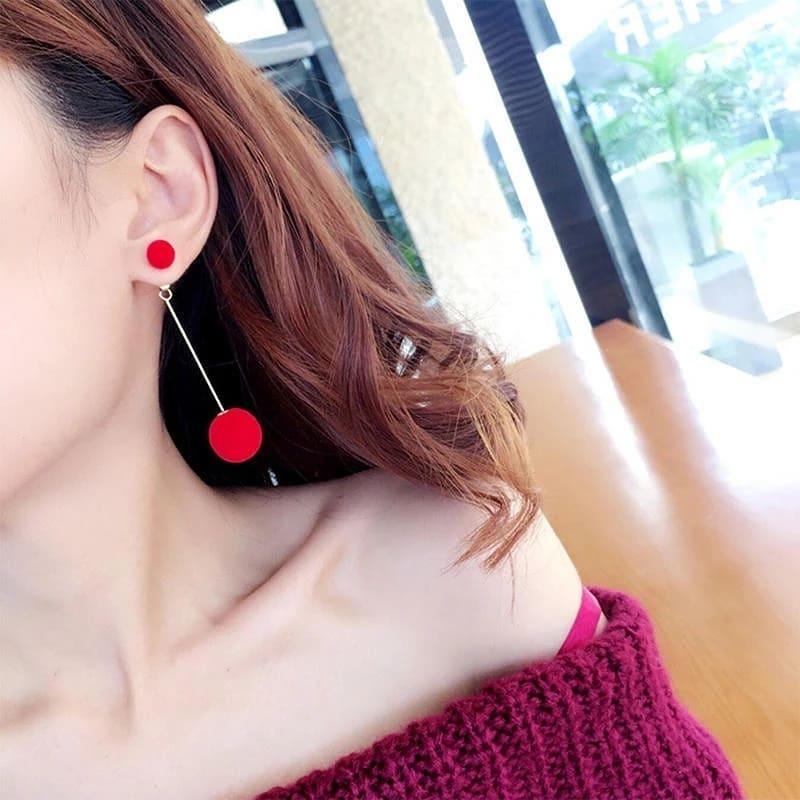 Hair Ball Dangle Earrings For for girls 2021 - Trendy Earrings 2021 - Imported earrings Fashion Jewellery