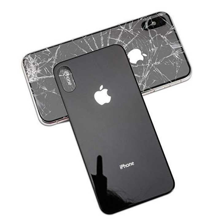 Apple Iphone X Back Glass Jette Black back glass for iPhone X 7/8 7+/8+ X MAX (Black  Only)