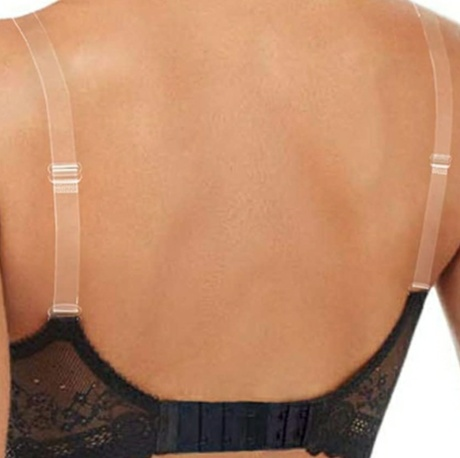 1  Pair Summer Invisible Transparent Bra Straps Adjustable Intimates Straps Strapless Invisble Transparent Bra Straps