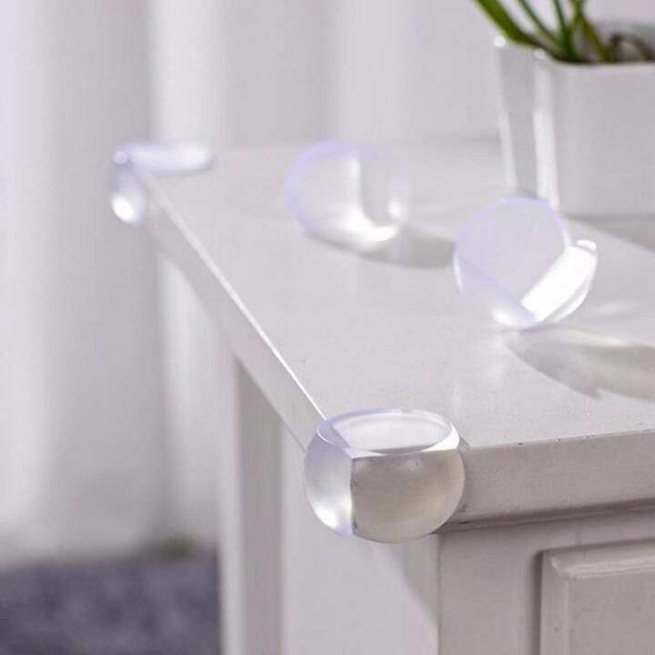 Pack Of 4 - Table Corner Guards For Child'S Safety