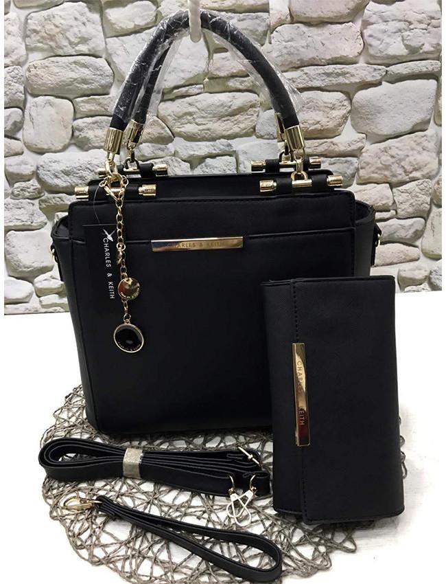 7c8daabdf76a7 2 Piece Set High Quality PU Shoulder Messenger Bag Ladies Handbag Luxury  Brand Handbag Lady Handbags
