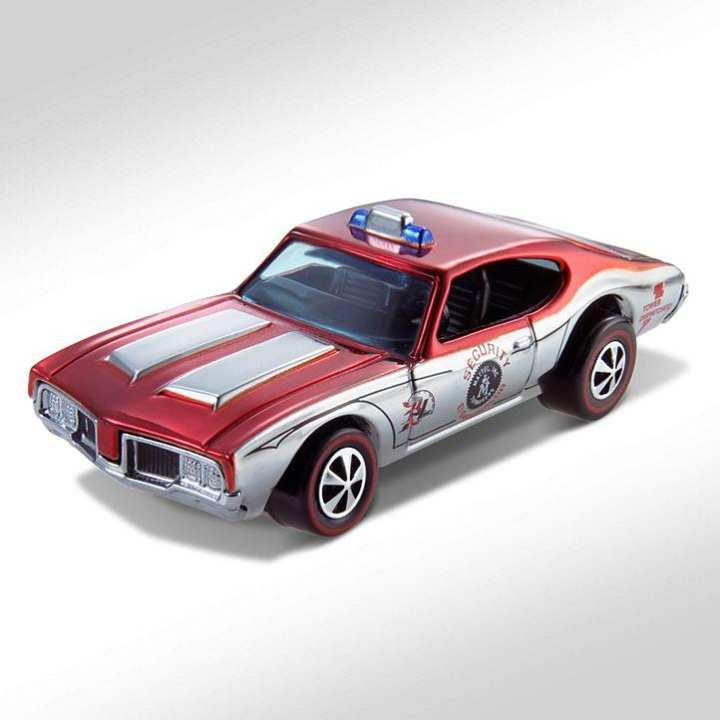 Hot Wheel Metal Racing Toy Car HWC Series Eight Neo-Classic Olds 442 (Security Car)