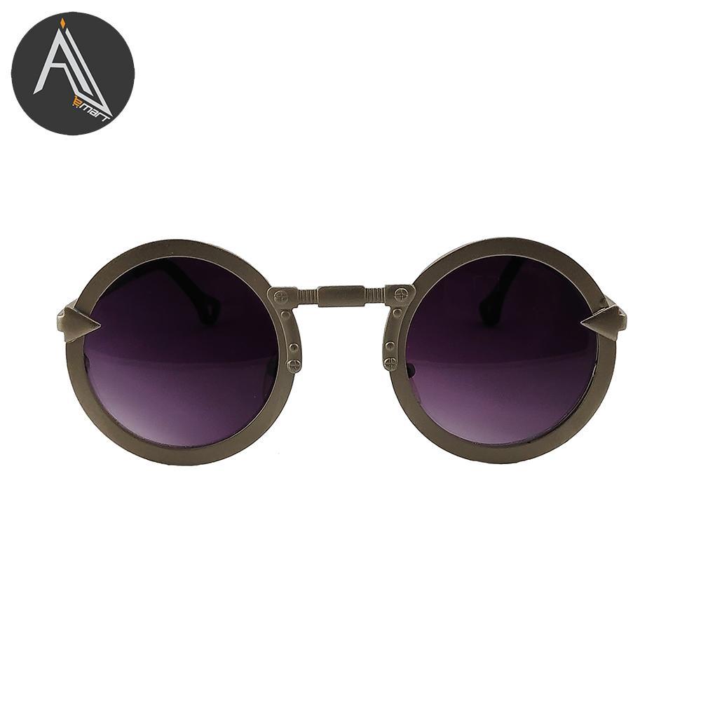 c6f7a2ebb5f Classic Frame round Sun glasses For Men Women unisex sunglasses -Gray