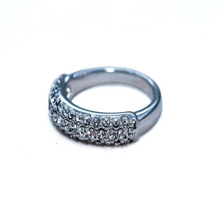 Silver Ring with Multiple Studs