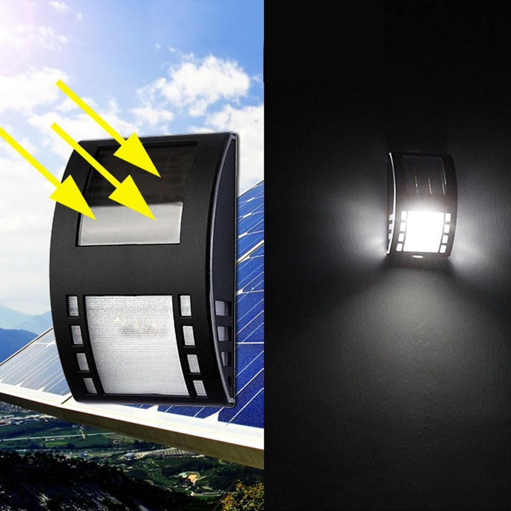 Solar Lamps Waterproof Solar Light 3led 120lm Pir Solar Sensor Lamp Garden Yard Wall Light For Energy Saving Light Garden Decoration Goods Of Every Description Are Available