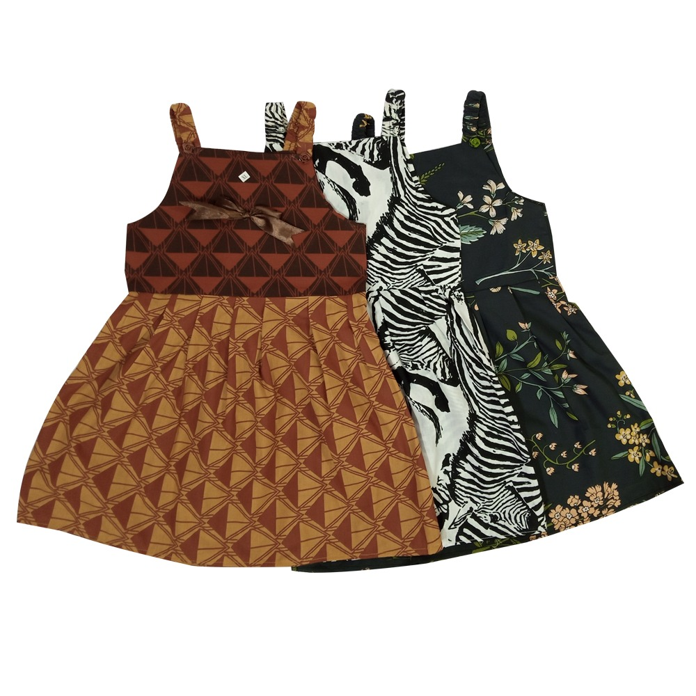 Printed Baby Frocks Cotton Stuff - Multicolor
