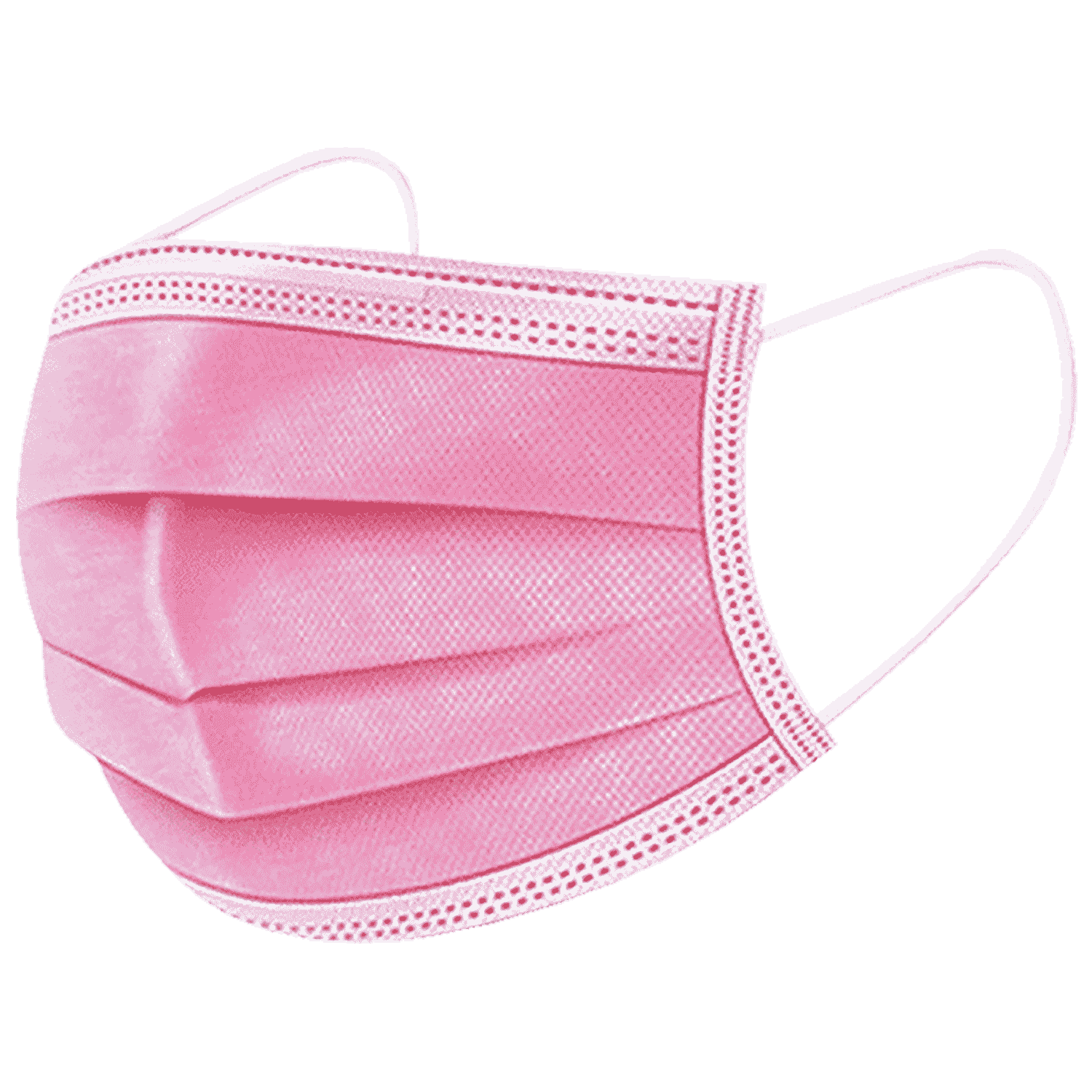 PINK Face Masks. for men and women Pack of 10 - Imported