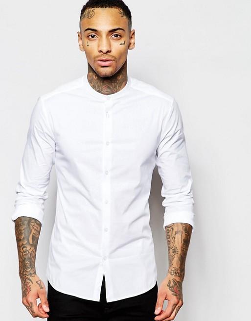 MK New style white shirt sherwani style