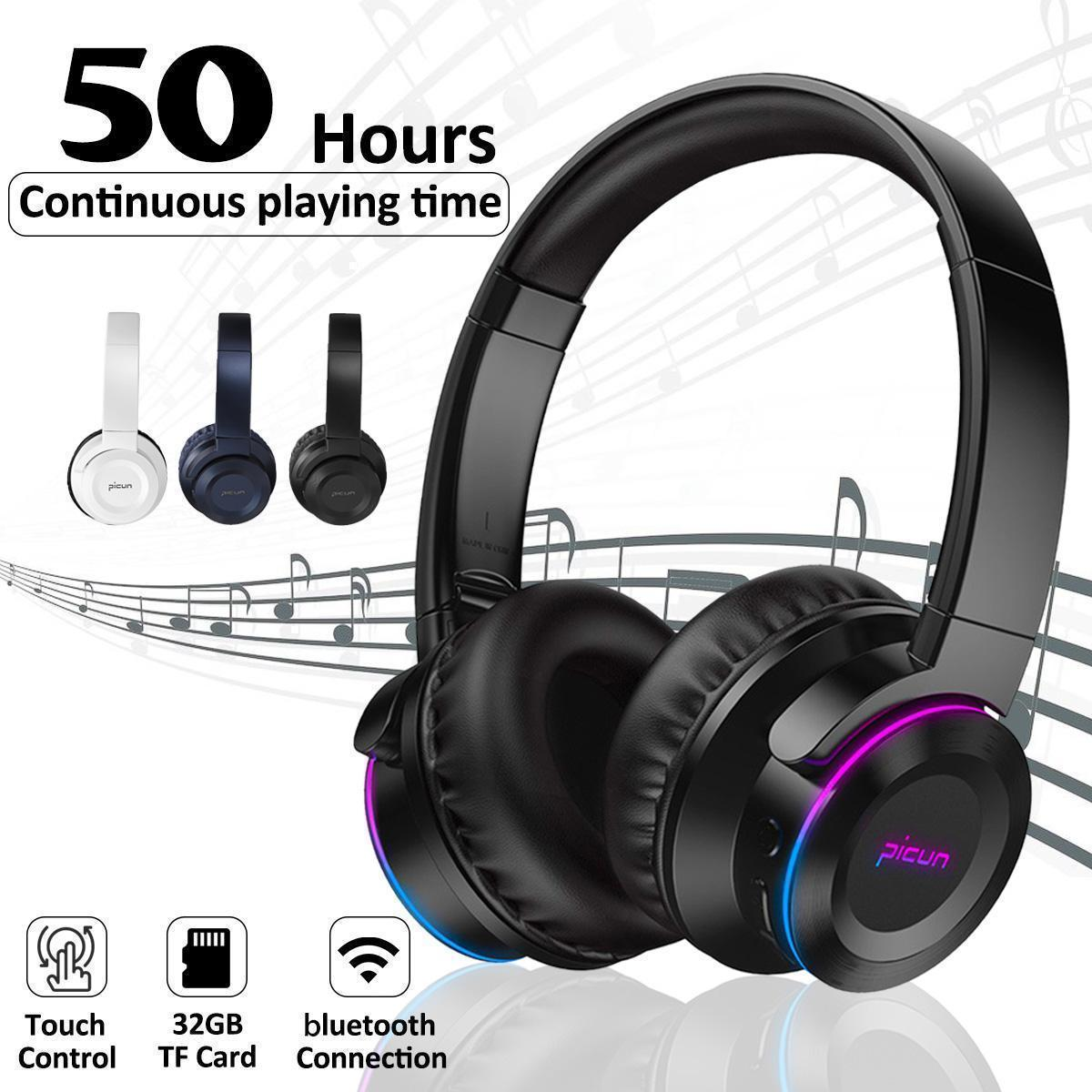 Wireless Bluetooth Headphone Touch Foldable Stereo Earphones Super Bass Headset 32gb Buy Online At Best Prices In Pakistan Daraz Pk