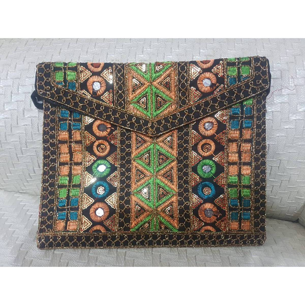 Traditional hand made bags - Hand made bags for ladies - Stylish handmade bags- Handmade bags for girls- Handmade multi colour bags