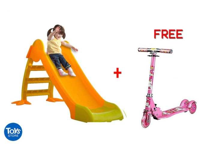 Kids Fun Slide + free scooter